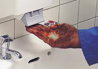 Abrasive hand creams