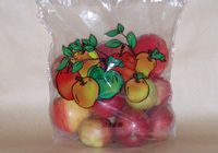 Bags for packaging of fruits and vegetables
