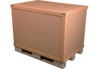 Transport paper box