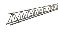 Steel lattice girder