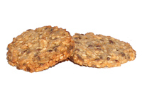 Whole-grain cereal biscuits