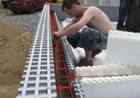 Styrofoam permanent shuttering