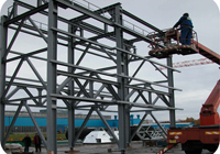 Welded steel structures