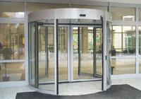 Turnstile doors