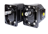 Gear hydraulic generators
