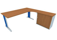 Hobis integral desks